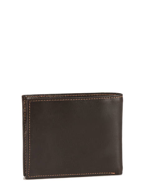 Wallet Leather Wylson Brown rio W8190-6 other view 2