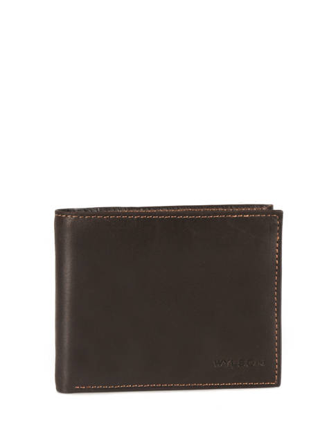 Wallet Leather Wylson Brown rio W8190-6