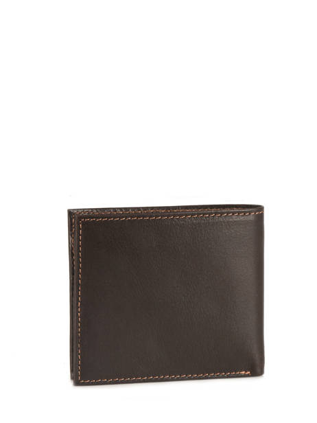 Card Holder Leather Wylson Brown rio W8190-7 other view 2