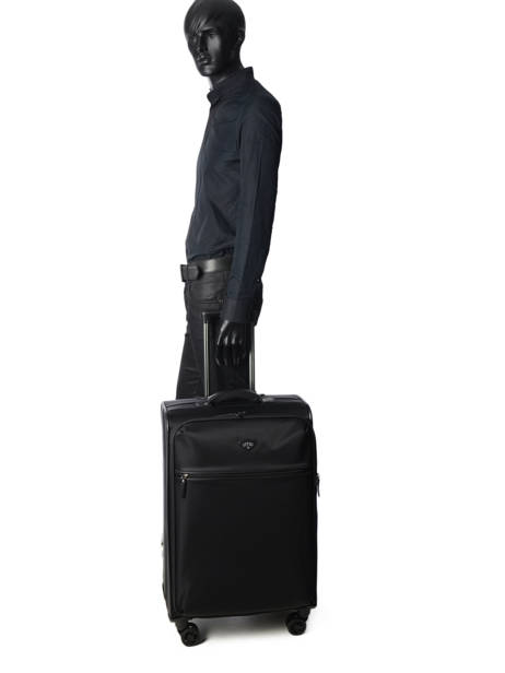 Softside Luggage Jump Black 6572EX other view 3