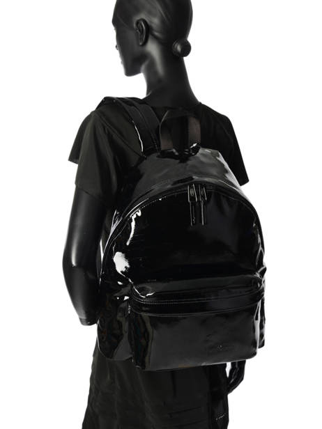 Backpack 1 Compartment Eastpak Black pearlescent K620PEAR other view 3