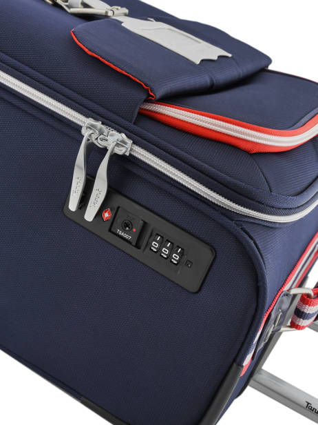Cabin Luggage Tann's Blue hossegor 71752 other view 2