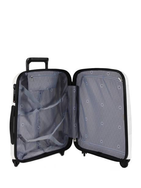 Valise Cabine Delsey Blanc belmont 3840803 vue secondaire 4