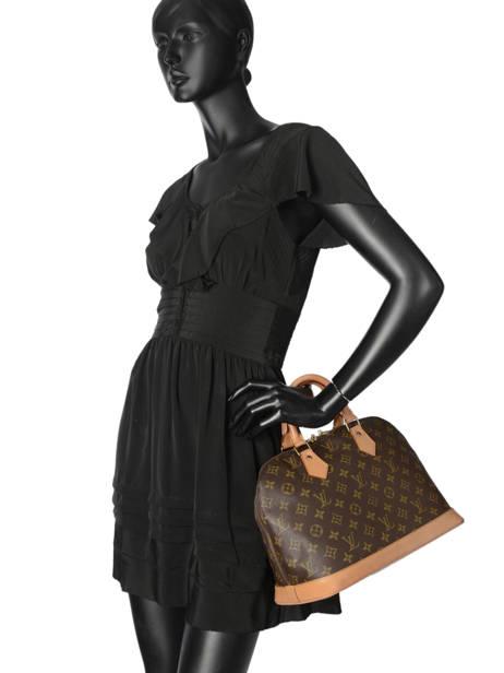 Sac à Main D'occasion Louis Vuitton Alma Monogrammé Brand connection Marron louis vuitton 12 vue secondaire 2