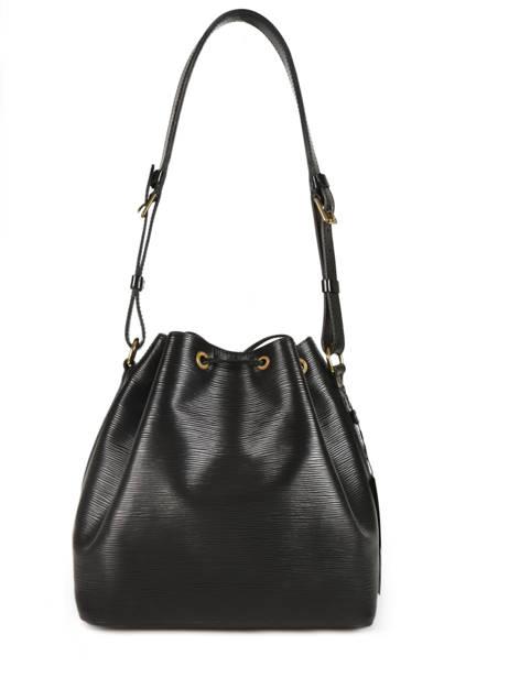 Sac Bourse D'occasion Louis Vuitton Noé Brand connection Noir louis vuitton 181 vue secondaire 3