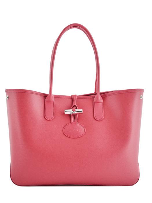 Longchamp Roseau Besaces Rose
