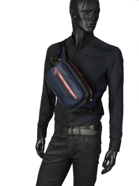 Fanny Pack Tommy hilfiger Blue urban novelty AM04343 other view 2