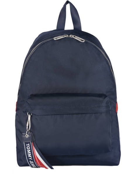 Backpack Tommy hilfiger Blue tju logo AU00398