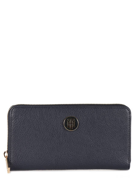 Portefeuille Tommy hilfiger Bleu th core AW06168