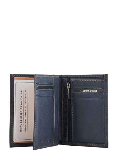 Wallet Leather Lancaster Beige soft vintage homme 120-12 other view 1