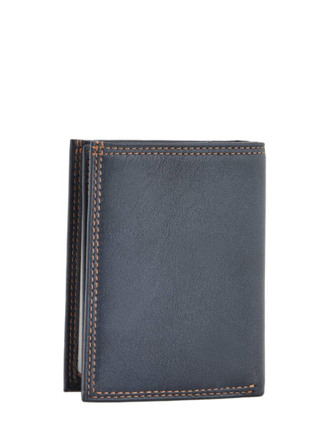 Wallet Leather Lancaster Beige soft vintage homme 120-12 other view 2