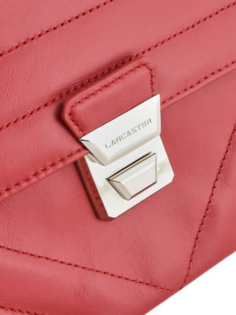 Shoulder Bag Parisienne Couture Leather Lancaster Red parisienne couture 571-66 other view 1