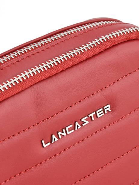Sac Banane Lancaster Rouge parisienne couture 571-67 vue secondaire 1