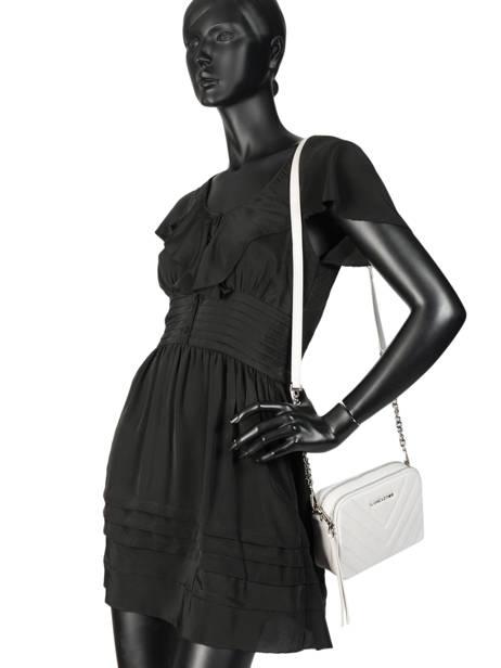 Sac Bandoulière Parisienne Couture Cuir Lancaster Beige parisienne couture 571-68 vue secondaire 2