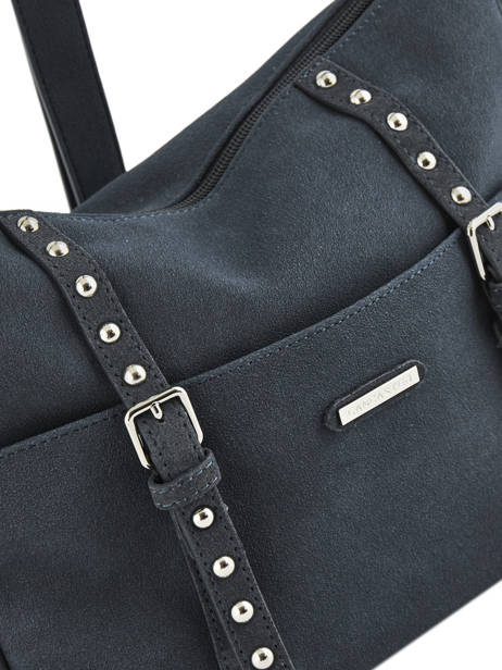 Sac Bandoulière Actual Smart Studs Lancaster Bleu actual smart studs 517-57 vue secondaire 1