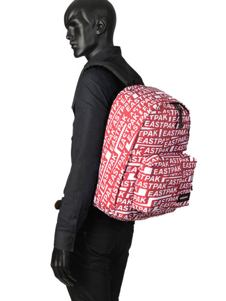 Backpack A4 1 Compartment + 15'' Pc Eastpak Black K767 other view 2
