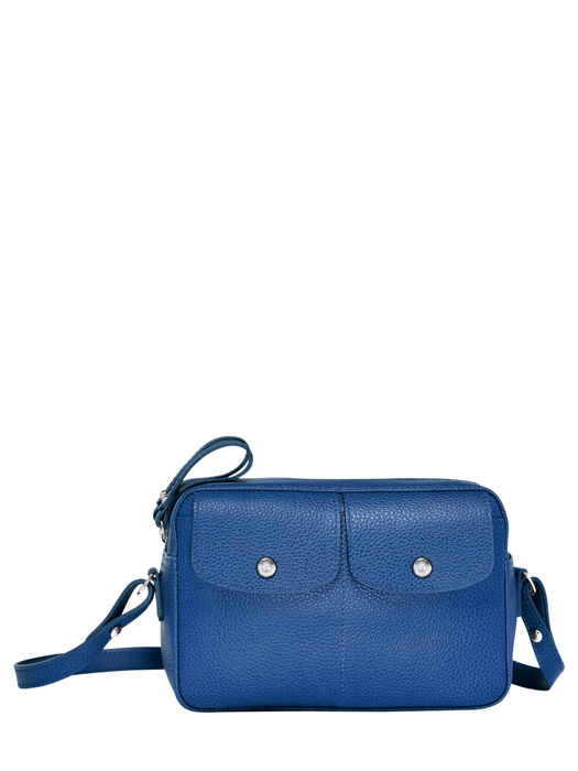 Longchamp Le foulonné Messenger bag Blue