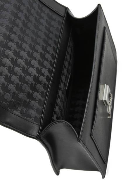 Leather K Ikonik Shoulder Bag Karl lagerfeld Black k ikonic 91KW3013 other view 4