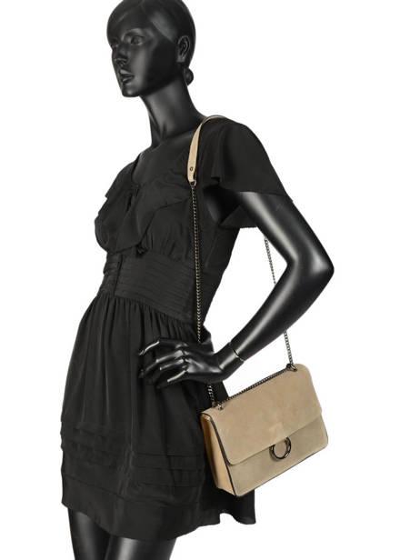 Shoulder Bag Velvet Milano Black velvet VE180602 other view 1