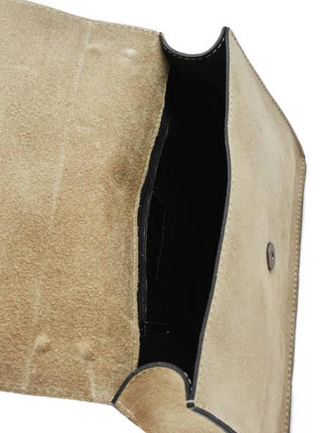 Shoulder Bag Velvet Milano Black velvet VE180602 other view 3