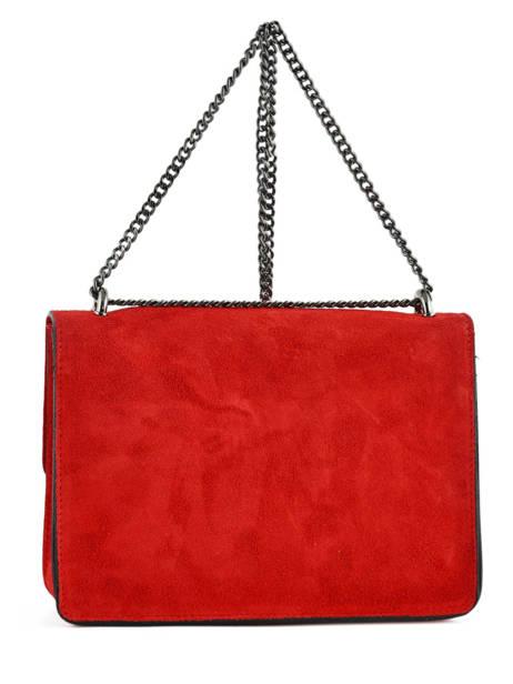 Sac Bandoulière Velvet Milano Rouge velvet VE180602 vue secondaire 2