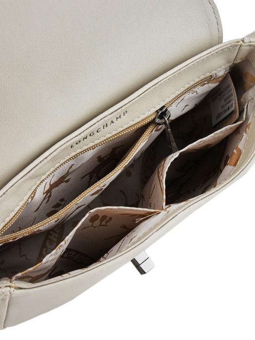 Longchamp Alezane Sacs porté travers Beige