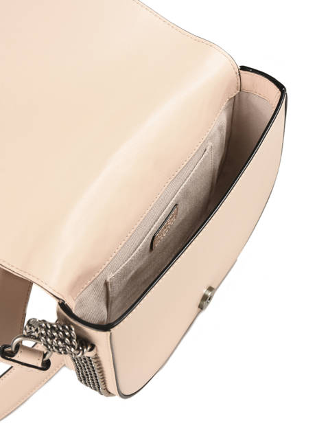 Sac Bandoulière Signature Quilted Cuir Karl lagerfeld Beige signature quilted 91KW3064 vue secondaire 4
