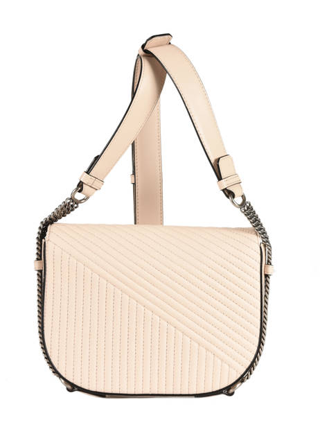 Sac Bandoulière Signature Quilted Cuir Karl lagerfeld Beige signature quilted 91KW3064 vue secondaire 3