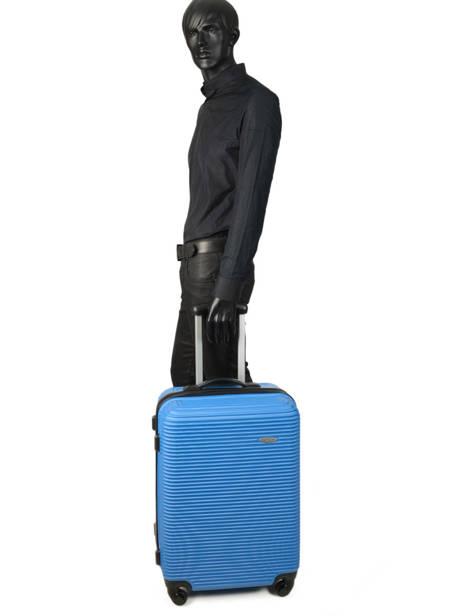 Valise Rigide Madrid Travel Bleu madrid IG1701-M vue secondaire 3