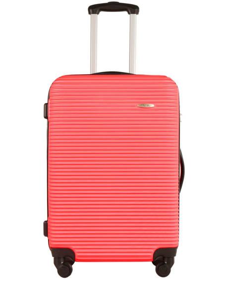 Valise Rigide Madrid Travel Rouge madrid IG1701-M