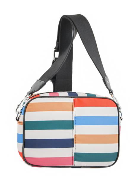 Sac Bandouliere Forever Nylon Sonia rykiel Multicolore forever nylon 2164-38 vue secondaire 4