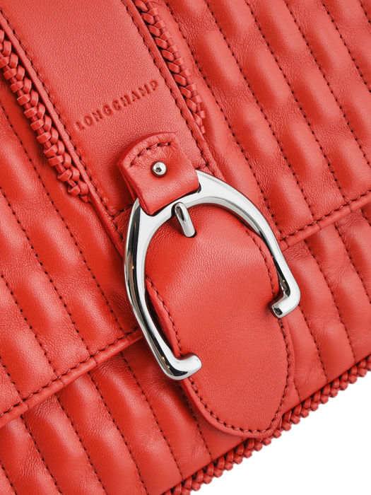 Longchamp Amazone matelassÉ Besaces Rouge