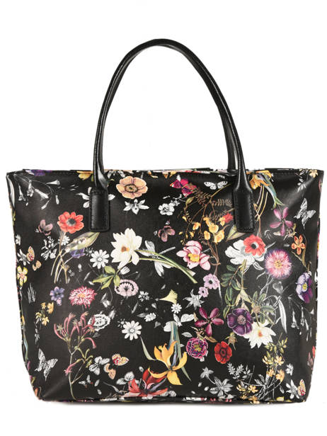 Sac Cabas Maya Exotic Flower Lancaster Noir maya exotic flower 517-69 vue secondaire 3
