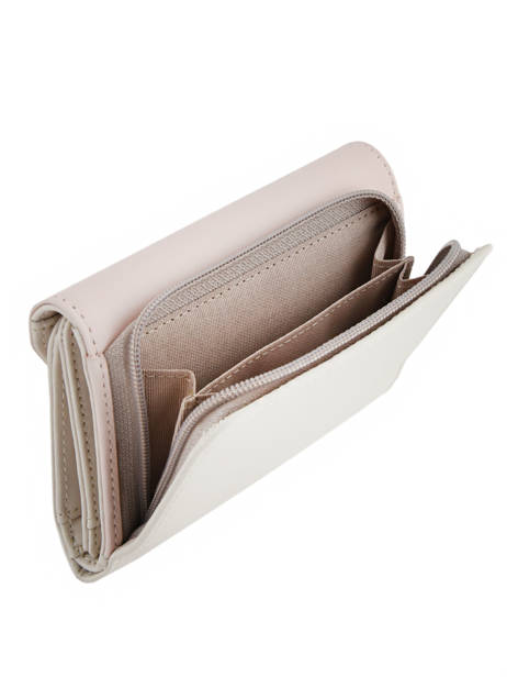 Wallet Leather Lancaster Beige constance 137-02 other view 4