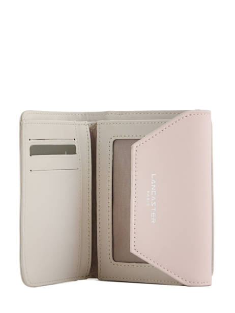 Wallet Leather Lancaster Beige constance 137-02 other view 3