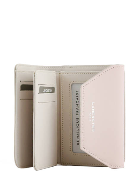 Wallet Leather Lancaster Beige constance 137-02 other view 2