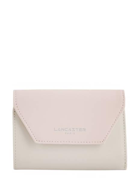 Wallet Leather Lancaster Beige constance 137-02