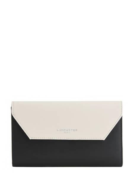 Continental Wallet Leather Lancaster Black constance 137-04