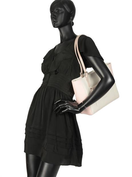 Shoulder Bag Constance Leather Lancaster Beige constance 437-12 other view 2