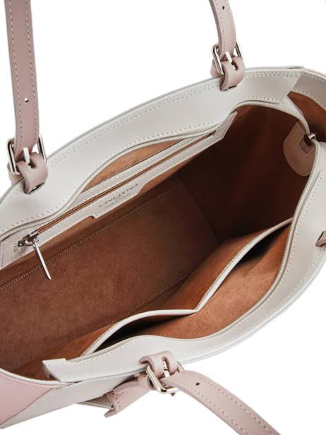 Shoulder Bag Constance Leather Lancaster Beige constance 437-12 other view 4