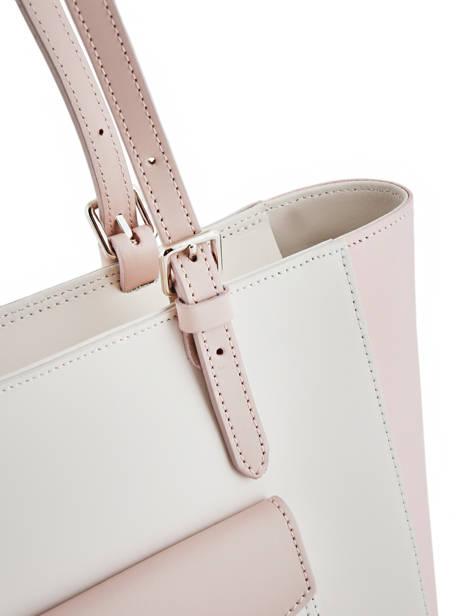 Shoulder Bag Constance Leather Lancaster Beige constance 437-12 other view 1