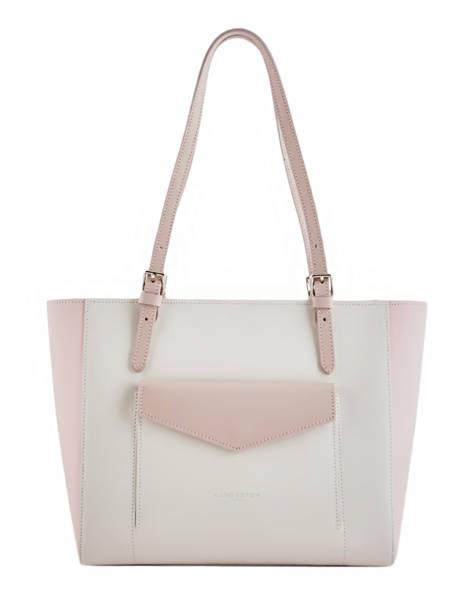 Shoulder Bag Constance Leather Lancaster Beige constance 437-12