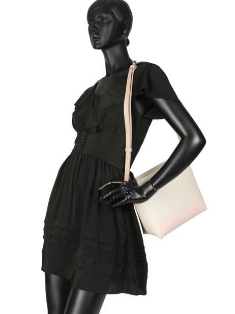Shoulder Bag Constance Leather Lancaster Beige constance 437-27 other view 2
