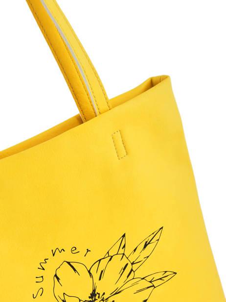 Sac Shopping Flat Bag Woomen Jaune flat bag WFLAT01 vue secondaire 1