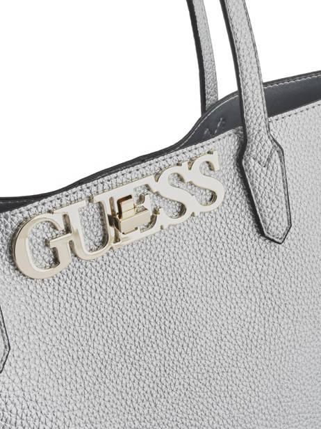 Sac Cabas Uptown Chic Guess Argent uptown chic MG730123 vue secondaire 1