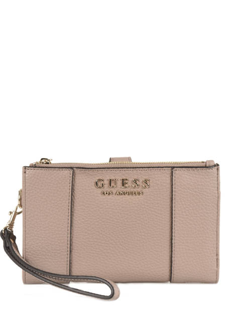 Portefeuille Guess Gris heidi VE717657