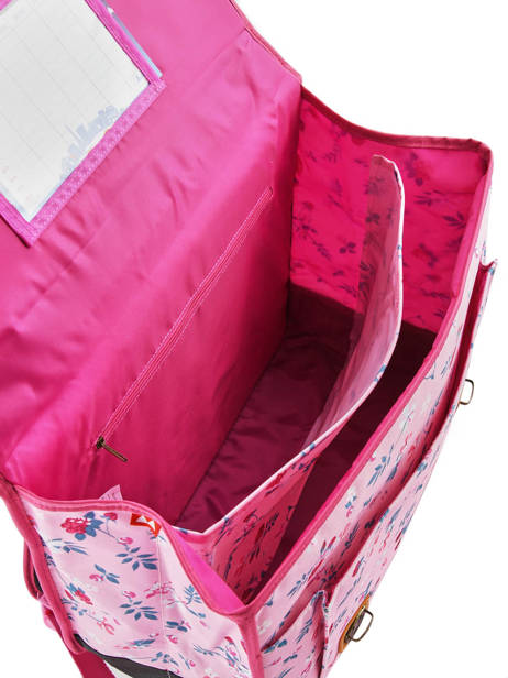 Satchel 2 Compartments Poids plume Pink liberty LIB1541 other view 4