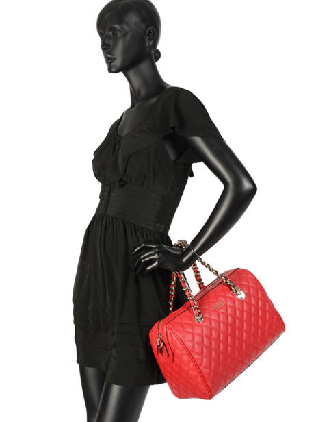 Sac Polochon Sweet Candy Guess Rouge sweet candy VG717507 vue secondaire 2