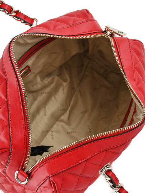Sac Polochon Sweet Candy Guess Rouge sweet candy VG717507 vue secondaire 4