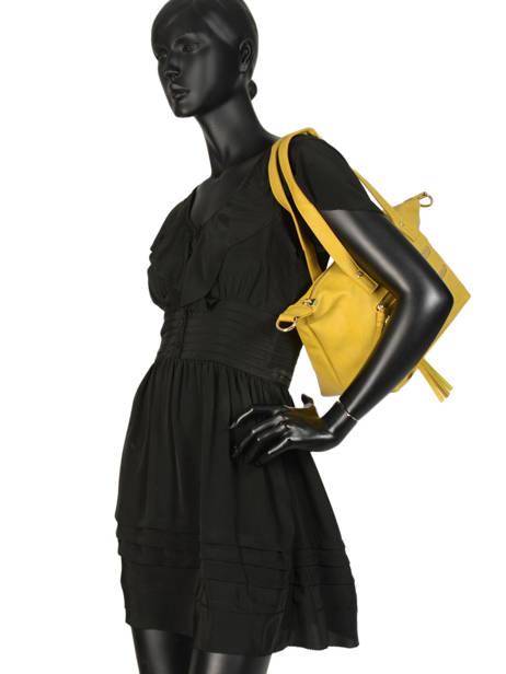 Sac Shopping Soft Lulu castagnette Jaune soft KEORGE vue secondaire 2